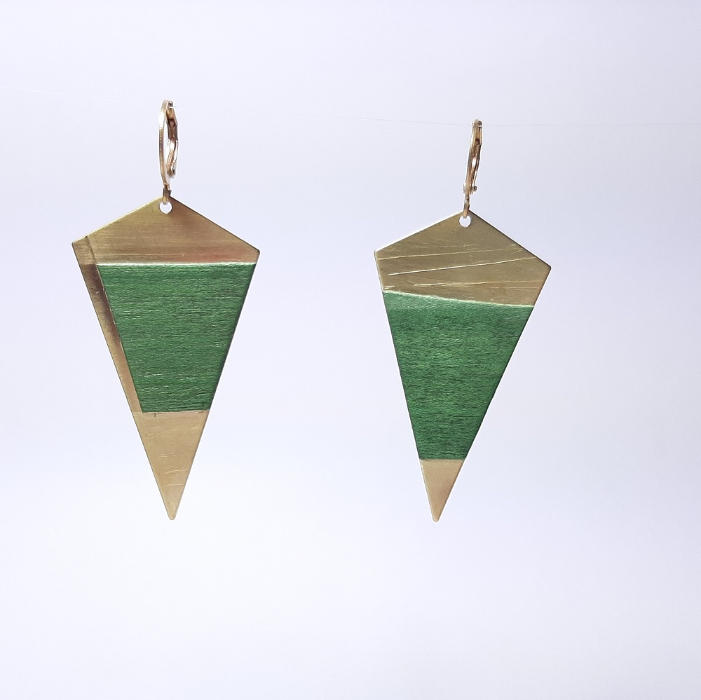 Agathe – Sycomore teinté vert émeraude
