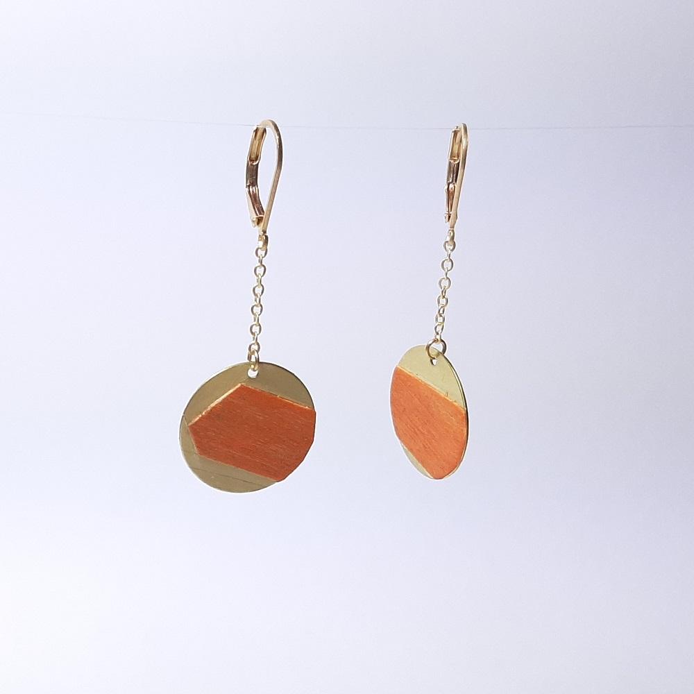 Dounia – Sycomore teinté orange