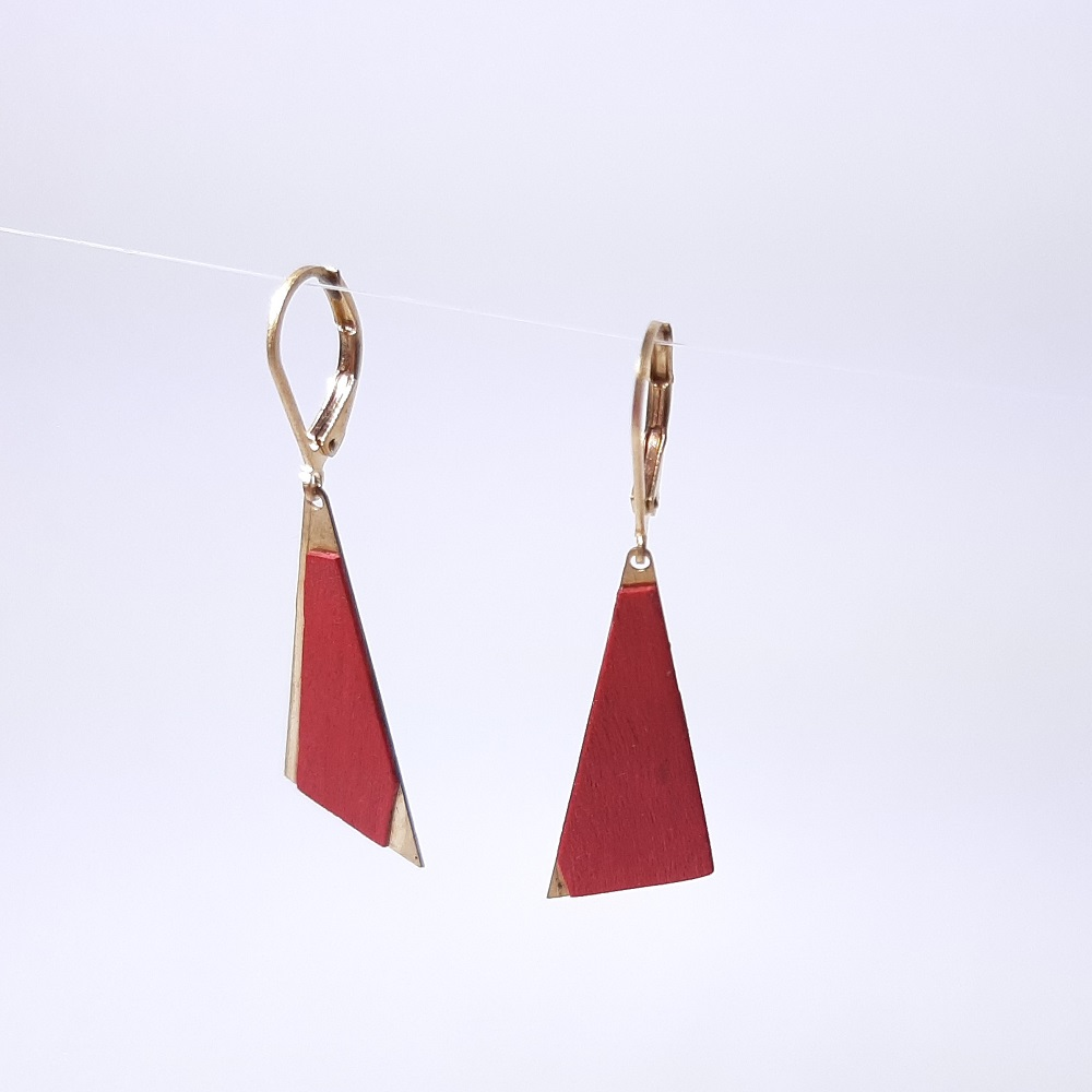 Naama- Charme teinté rouge
