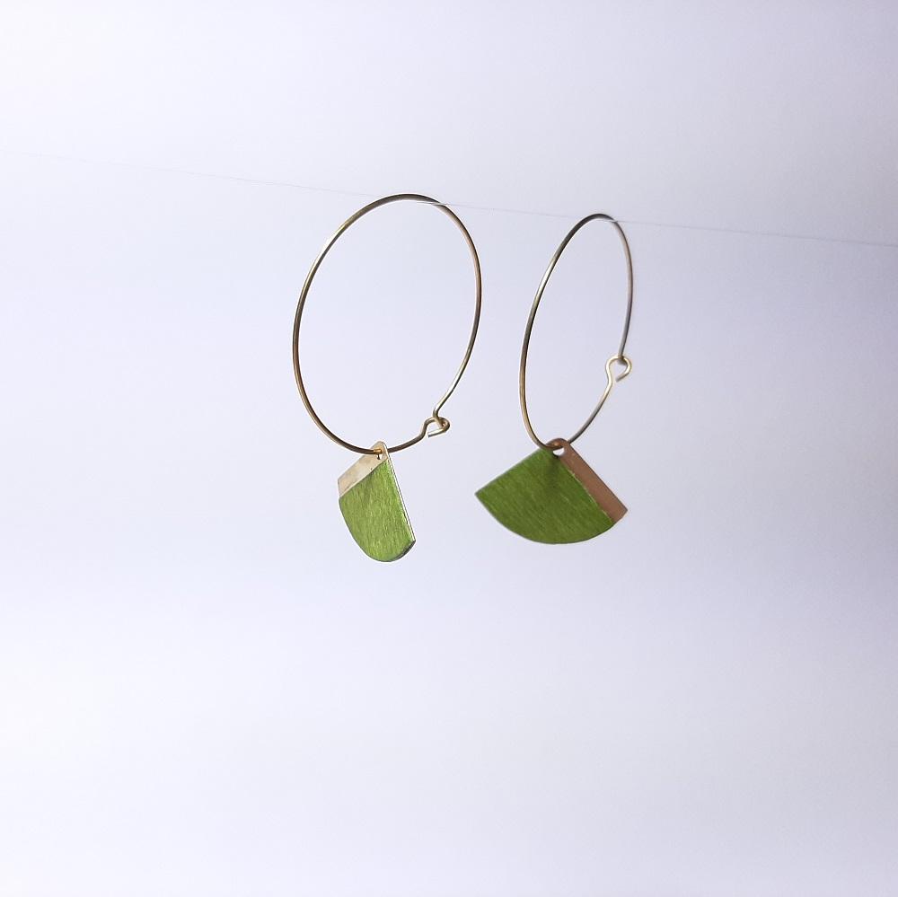 Katell – Sycomore teinté vert