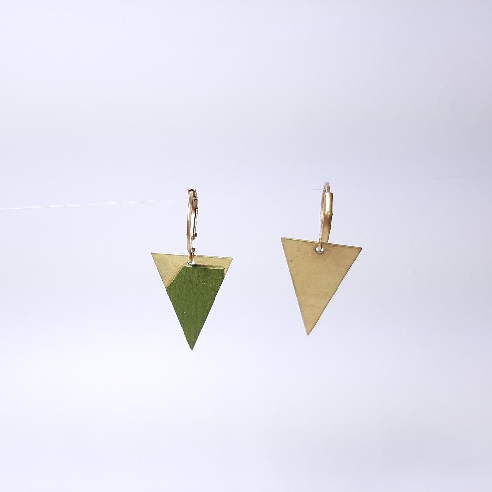 Lalie – Sycomore teinté vert