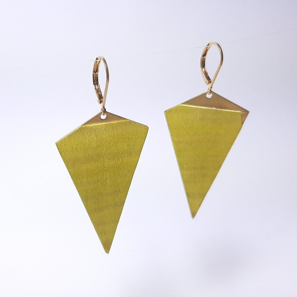 Agathe – Sycomore teinté vert citron