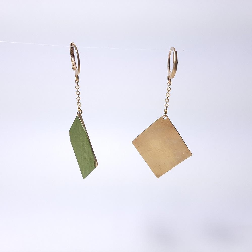Faustine – Sycomore teinté vert