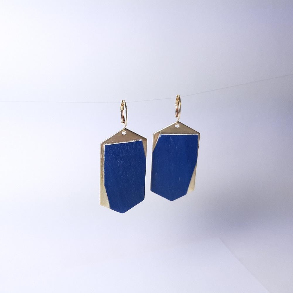 Habi – Tulipier teinté bleu