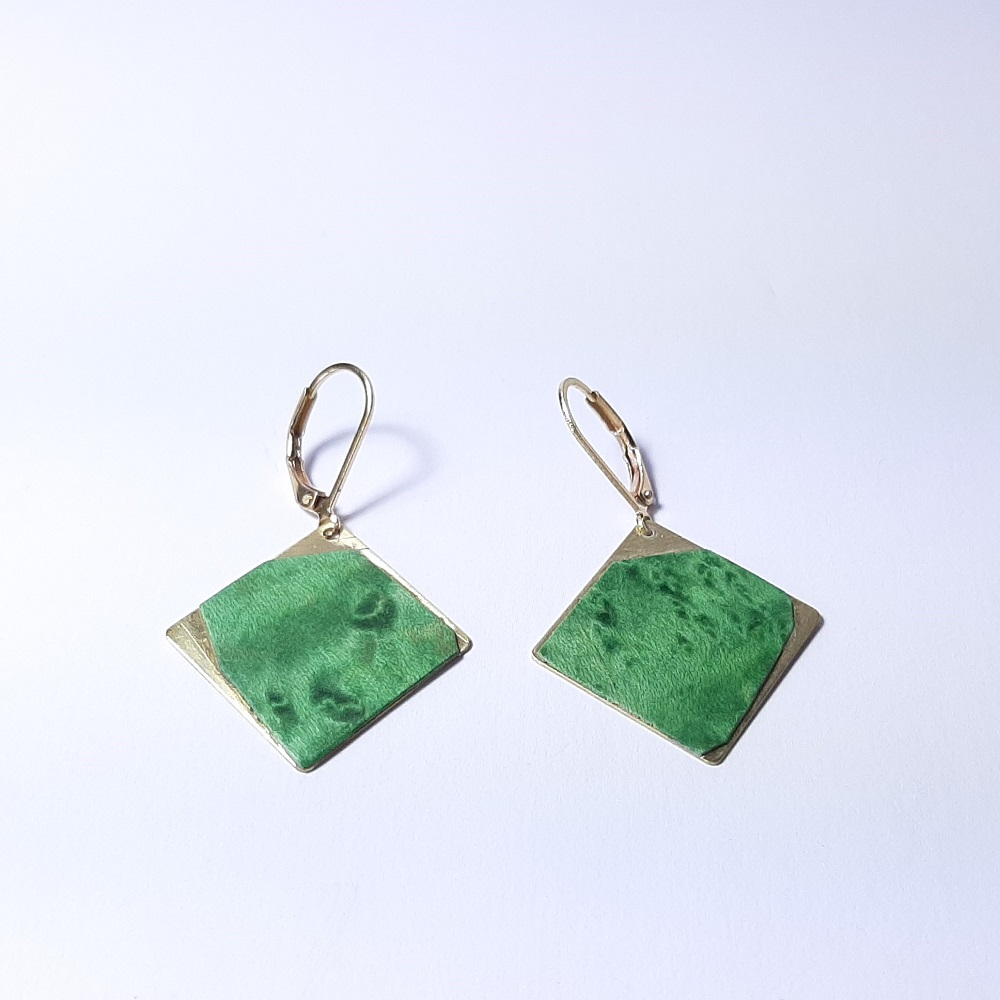 Emi – Platane maillé teinté vert