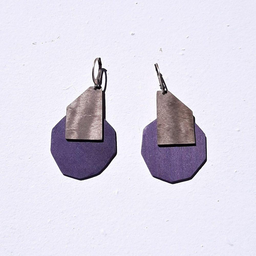 Memphis gris/violet