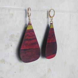 BO rouge ondée - marie dubois marqueterie