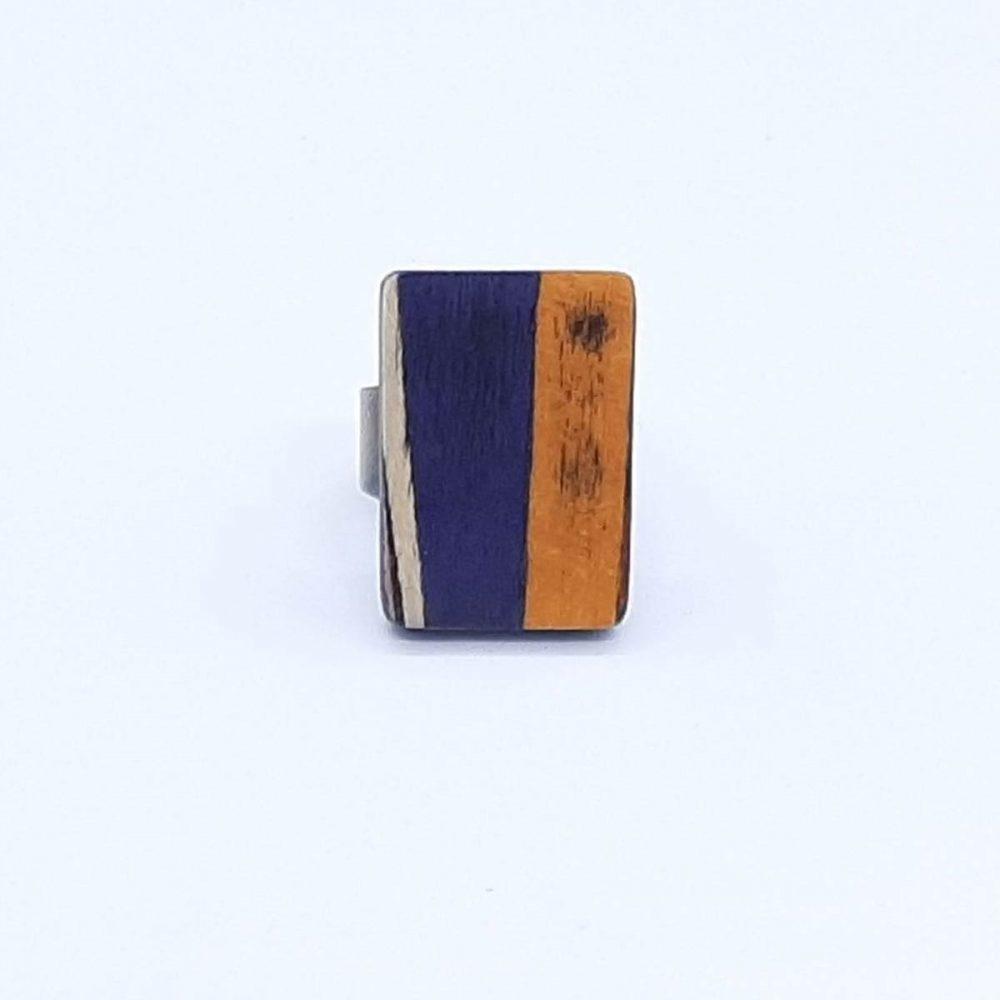 bague-bois-fait-main-rectangle-orange-violet